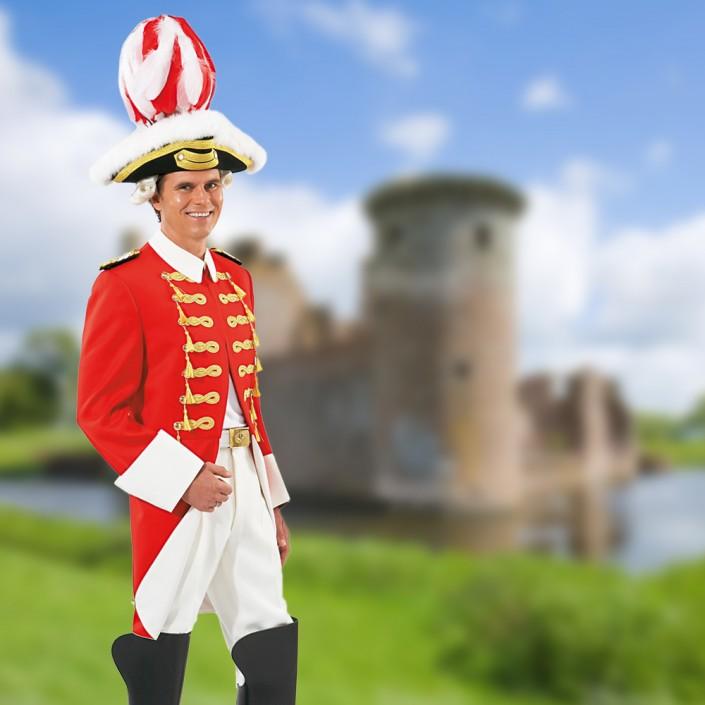 gardeuniform-rot-mit-dreispitz-705x705,  Gardeuniform