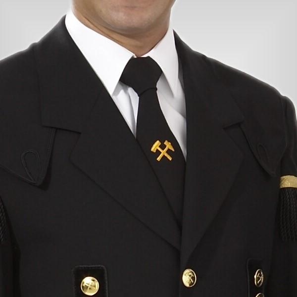 krawatte-mit-bergmannslogo,  Bermannstracht, Bermannsuniform