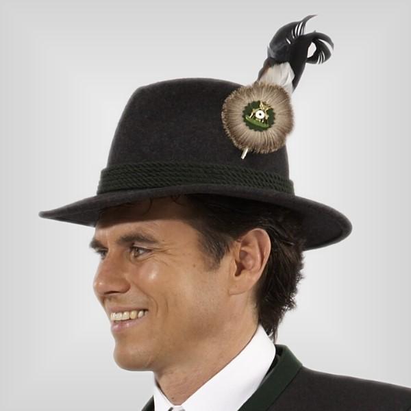 schuetzenhut-mit-schuetzenfeder,  Schützenuniform