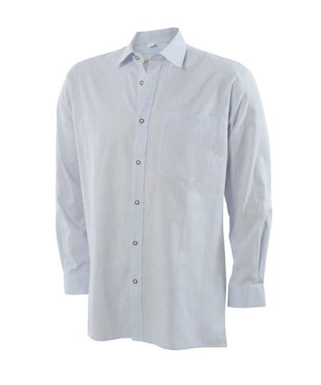trachtenhemd-hellblau,  Uniformhemden und Blusen