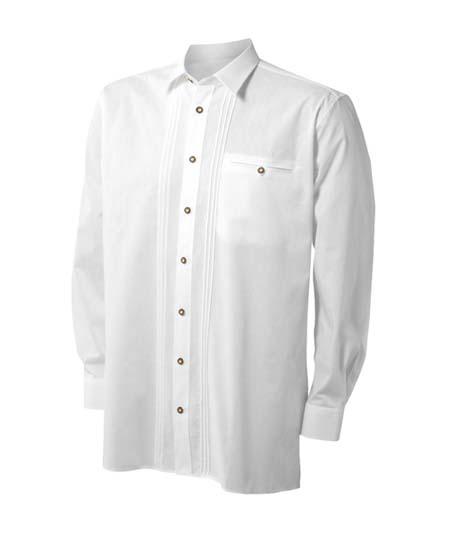 trachtenhemd-mit-biesen-und-brusttasche,  Uniformhemden und Blusen