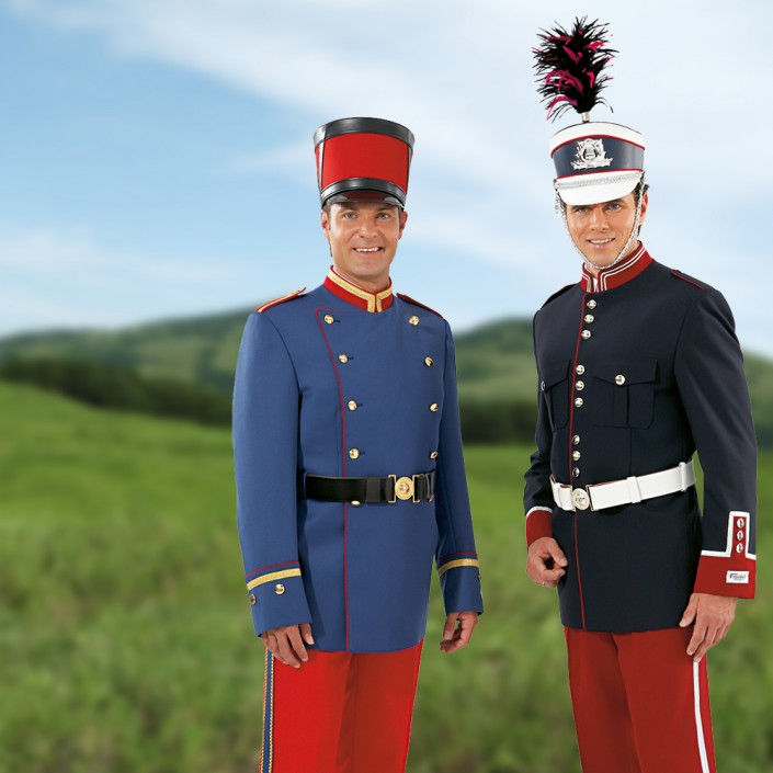 uniformjacke-blau-705x705,  Fanfarenkorps, Fanfarenzug