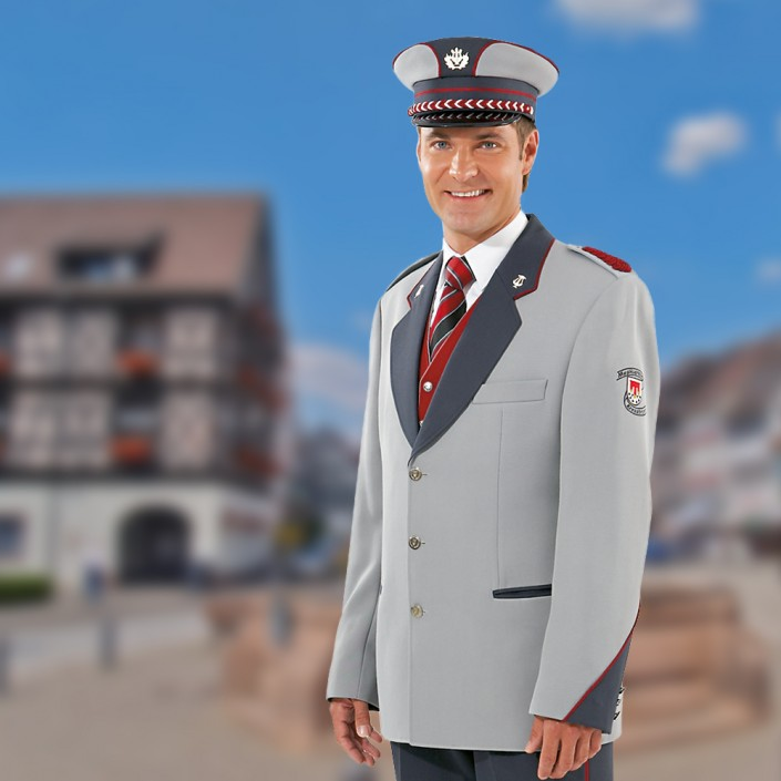 uniformjacke-grau-mit-aermeleinsatz-705x705,  Uniformen