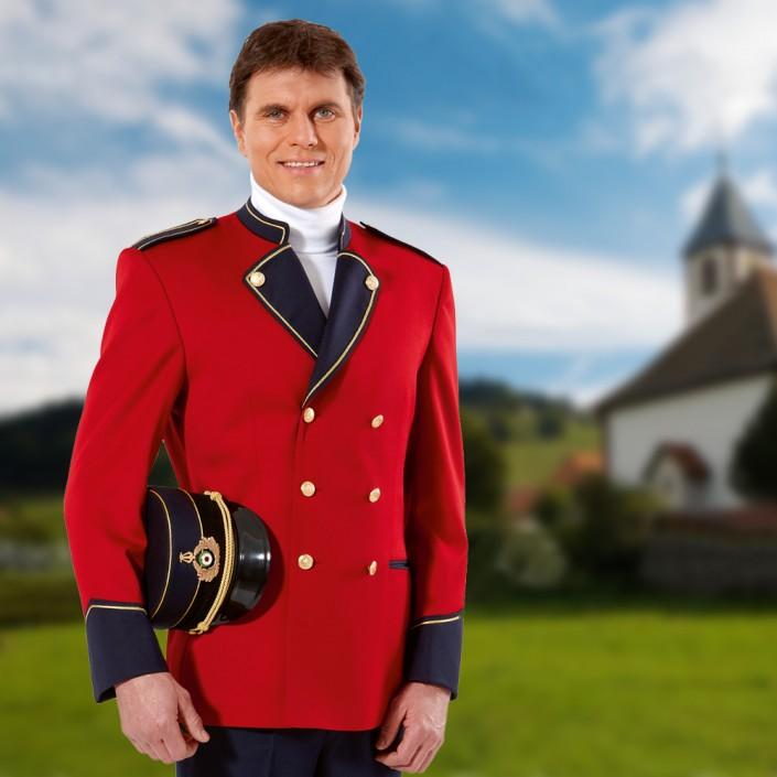 uniformjacke-rot-schwarz-705x705,  Uniformen