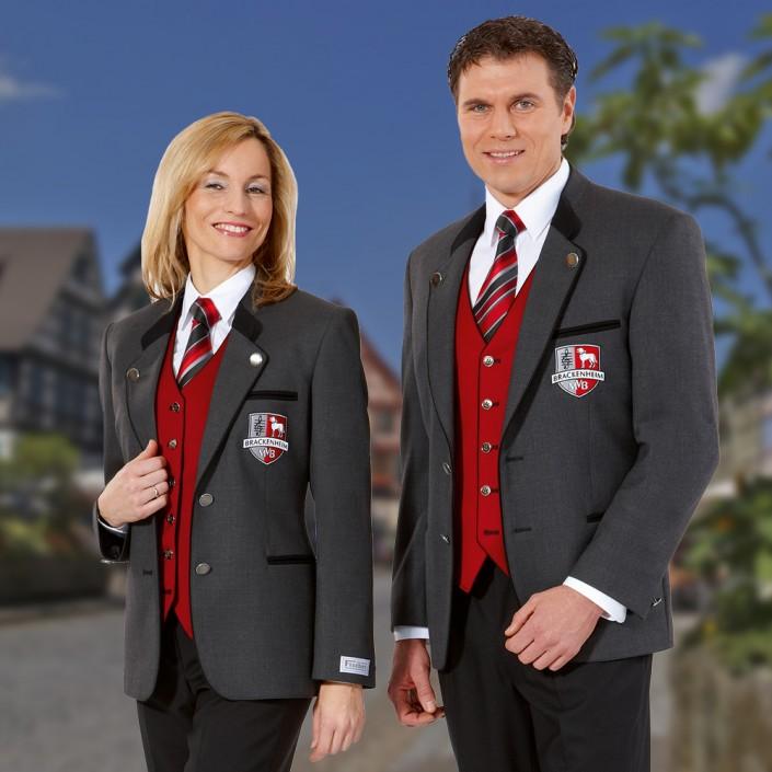 vereinsjacke-grau-mit-roter-uniformweste-705x705,  Vereinsbekleidung